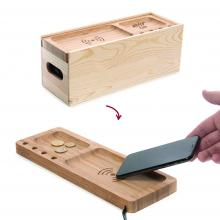 Rackpack Juice box | Boîte à vin avec station de charge sans fil