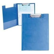 Porte-bloc avec pochette | PVC