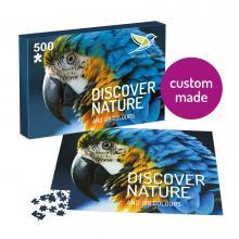 Puzzle avec votre propre design | 500 pièces | En boîte A4 | Max500
