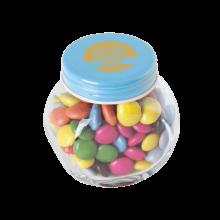 Bocal bonbons | 30g | Choco Carletties  | 72503521 Bleu Clair