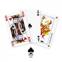 Jeu de cartes | Avec boîte en carton | Quadrichromie  | 127playingcard