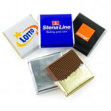 Carrés Chocolat | Belges | 36 x 36 x 3 mm