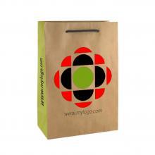 Sac papier Kraft de luxe | Format A4 | Papier certifié FSC