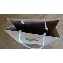 Sac papier Kraft de luxe | Format A4 | Papier certifié FSC | 108eco002