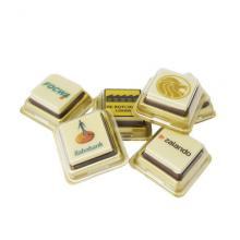 Chocolat individuel | Avec petite boîte plastique