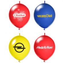 Chaîne de ballons imprimés | Personnalisable