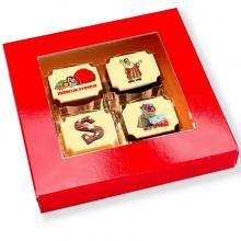Boite chocolat bonbon | 4 chocolats
