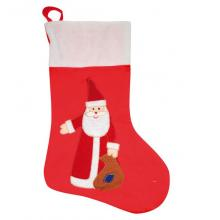 Chaussette de Noël avec père Noël