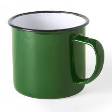 Mug émaillé | Aspect vintage | 350 ml | 155571 Vert