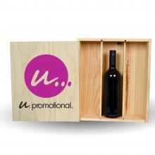 Coffret vin | 3 compartiments | certifié PEFC