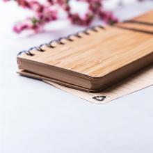 Carnet | A6 | Couverture en bambou