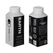 Bouteille d'eau en carton | 330 ml | Quadrichromie | 6101EW330ML Noir