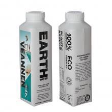 Bouteille d'eau en carton | 500 ml | Quadrichromie
