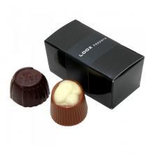 Boîte chocolat | 2 chocolats belges | 611062