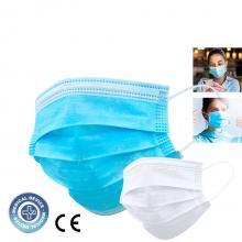Masque chirurgical ''certifié IIR CE'' | 3 couches | Non imprimé | 156752