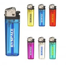 Briquet transparent