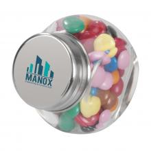 Bocal bonbons | 30 g | Pas cher | 4 saveurs