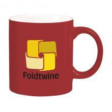 Mug coloré | Céramique | 350 ml | 733726 Rouge