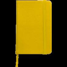 Carnet coloré | Format A6 | 100 pages lignées | 8032889 Jaune