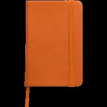 Carnet coloré | Format A6 | 100 pages lignées | 8032889 Orange
