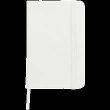 Carnet coloré | Format A6 | 100 pages lignées | 8032889 Blanc