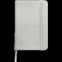 Carnet coloré | Format A6 | 100 pages lignées | 8032889 Argent