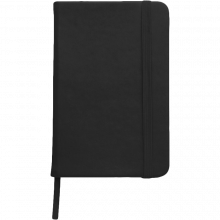 Carnet coloré | Format A6 | 100 pages lignées | 8032889 Noir