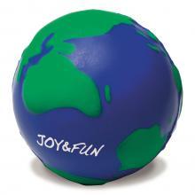 Anti-stress 'Globe' en mousse.