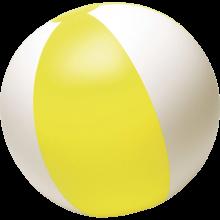 Ballon de plage PVC 26 cm | 8039620 Jaune