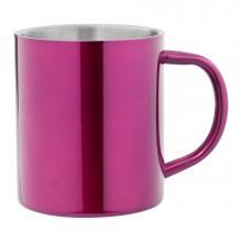 Mug | Inox | Anse colorée | Boîte cadeau | 380 ml