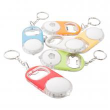 Porte clé | décapsuleur | Lampe à LED  | Batteries incl.