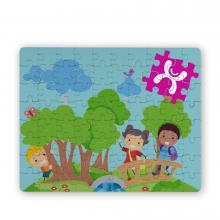 Puzzle | 20 x 14,5 cm | 80 pièces