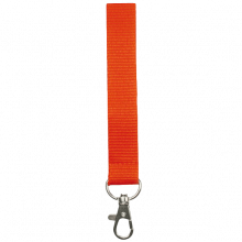 Tour de cou | Polyester | 15 mm | Sur mesure | 87315mm1 Orange