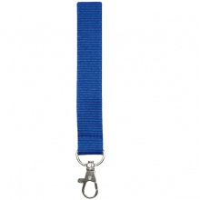 Tour de cou   Polyester   25 mm   Sur mesure   87325mm1 Bleu