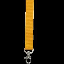 Tour de cou   Polyester   25 mm   Sur mesure   87325mm1 Jaune