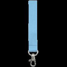 Tour de cou   Polyester   25 mm   Sur mesure   87325mm1 Bleu Clair