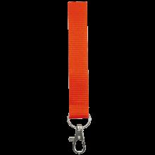 Tour de cou   Polyester   25 mm   Sur mesure   87325mm1 Orange