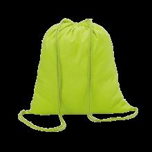 Sac à dos en coton | Coloré | 100 gr/m2 | 8798484 Citron Vert