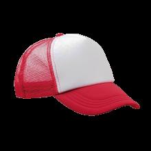 Casquette Trucker | Quadrichromie | Réglable | 8798594FC Rouge