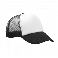 Casquette Trucker | Quadrichromie | Réglable | 8798594FC Noir