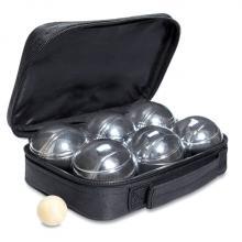 Set de 6 boules de pétanque | Avec pochette
