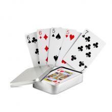 Cartes à jouer | Boîte fer | Classique