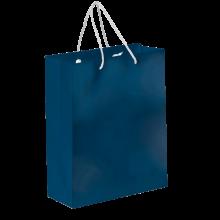 Sac papier de luxe   Format A4   Coloré   9191512 Bleu foncé