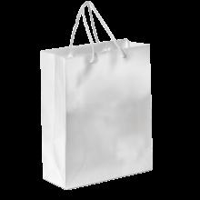 Sac papier de luxe   Format A4   Coloré   9191512 Blanc