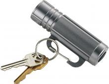 Porte clé   Lampe torche   mousqueton   9 lampes à LED