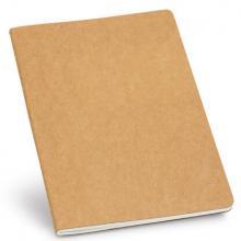 Cahier A5 | Éco en papier recyclé | 80 pages | 1393439 Brun