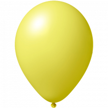 Ballon | 33 cm | Grande quantité | 9485951 Jaune Clair