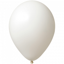 Ballon | 33 cm | Grande quantité | 9485951 Blanc