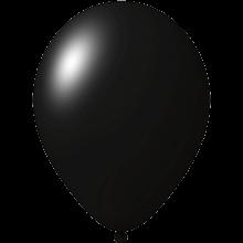 Ballon coloré | 33 cm | Petite quantité | 9485951s Noir