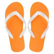 Tongs avec motifs | Pas cher | 83809497 Orange